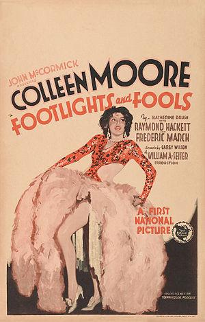 Footlights and Fools - Film poster