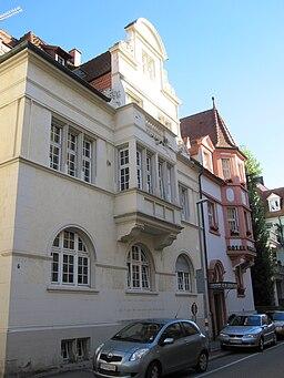 Poststraße in Freiburg im Breisgau