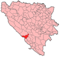 Posusje Municipality Location.png