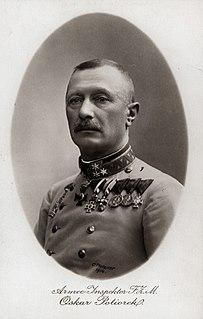 Oskar Potiorek Austro-Hungarian politician