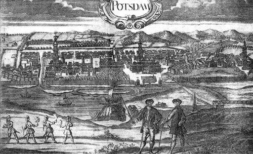 Potsdam Stadtansicht