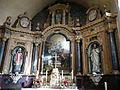 Pouancé - église Saint-Aubin - retable.JPG