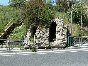 Aqua Augusta (Naples) - twin aqueduct tunnels at Pozzuoli