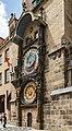 Prag, Altstädter Rathaus, Astronomische Uhr -- 2019 -- 6590.jpg