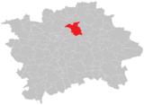 Lage von Libeň in Prag