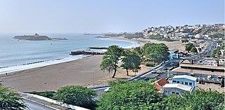 Praia City in Santiago