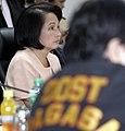 President Gloria Macapagal-Arroyo listens to an update report on Typhoon Peping (02).jpg