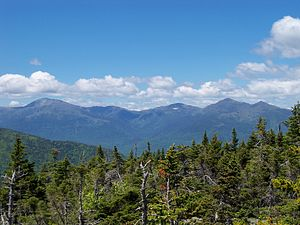 Mount Moriah (New Hampshire) - Presidential Range as seen from the summit