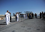 Press conference aboard future USS America during visit to Brazil 140806-N-FR671-276.jpg
