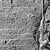 primaire romaans tufstenen venstertje in de noord-gevel - baflo - 20027422 - rce