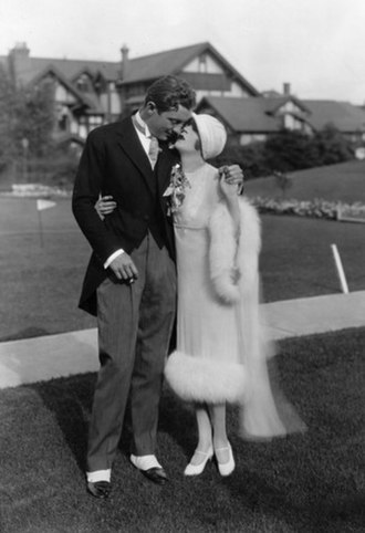 Mae Murray - Murray with fourth husband David Mdivani in 1926