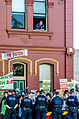 Protesters outside Balmain Town Hall 4.jpg
