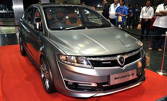 Mahathir Mohamad - The 2012 Proton Prevé Sapphire concept. Mahathir considered that an automotive industry was essential to Malaysia becoming an industrial nation. His government used tariffs to support the development of the Proton as a Malaysian-made car and to limit the capital outflow of Malaysian Ringgit to foreign countries.