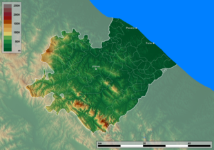 Cartina Geografica Provincia Di Pesaro Urbino.Provincia Di Pesaro E Urbino Wikipedia