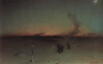 Witold Pruszkowski - March to Siberia, 1893