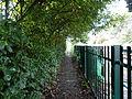 Public footpath near Nantwich railway station.JPG