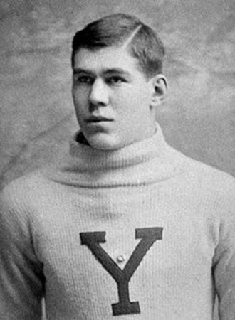 1889 College Football All-America Team - Yale guard Pudge Heffelfinger became the first professional football player in 1892.