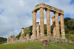 Temple of Antas - The Temple of Antas.