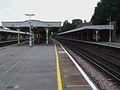 Purley station fast platforms look south.JPG