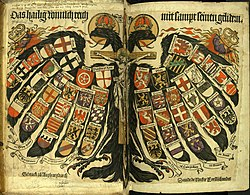 Double-headed eagle of the Holy Roman Empire, by Hans Burgkmair.