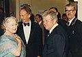 Queen Mother attends Honorary Fellows Dinner, 3rd June 1982 (2).jpg