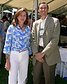 Queen Noor of Jordan with Steve Jurvetson.jpg
