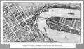 Queensland State Archives 3340 Birds eye view of Brisbane River Bridge and approaches c 1934.png