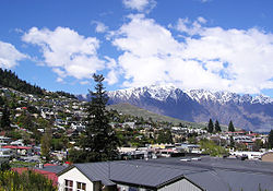 Queenstown a pohoří Remarkable Mountains
