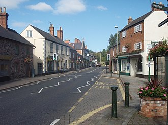 Quorn, Leicestershire - Image: Quorndon High Street