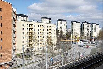 Rågsved - Image: Rågsved 2012d
