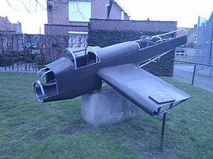 No. 156 Squadron RAF - Memorial to ED840, Lier, Belgium