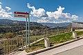 Radovljica Gradiška pot SW-Blick auf Save und Julische Alpen 10042017 7432.jpg