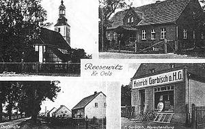 Radzowice - Image: Radzowice pocztowka