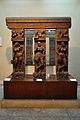 Railing with Pillars - Front View - 2nd Century CE - Sand Stone - Mathura - Indian Museum - Kolkata 2012-11-16 1960.JPG