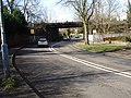 Railway bridge over Tamworth Road, A453 - geograph.org.uk - 372710.jpg