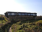 Railway carriage house, Aberporth Holiday home made from old railway carriage.