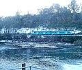 Railway train viewed across the River Taff, Radyr, Cardiff - geograph.org.uk - 2191420.jpg