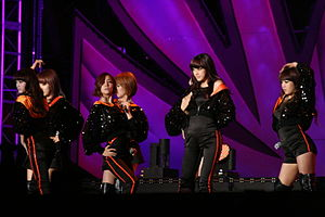 Asia Song Festival - Rainbow at the 2010 Song Festival