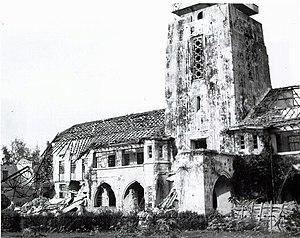 University of Yangon - Rangoon University suffered damage during World War II.