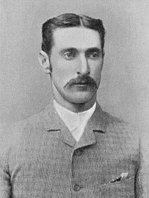 Ranji 1897 page 143 F. R. Spofforth, the demon bowler.jpg