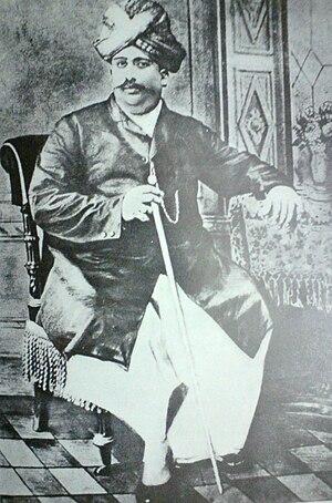 Nadar (caste) - Rao Bahadur T. Rattinasami Nadar, founder of the Nadar Mahajana Sangam