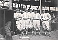 "Ray Jansen, Billy Kelly, ""Lefty"" Leifield, Walter Rehg, and Bobby Byrne of the Pittsburgh Pirates.jpg"