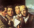 Readers of newspapers in Naples, 1831 - Orest Kiprensky.jpg