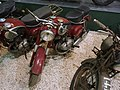 Red Puch motorcycle at the Ford museum pic2.JPG
