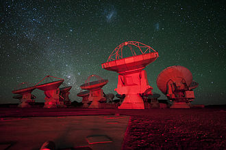 Magellanic Clouds - Image: Red alert