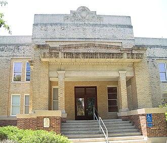 Atlee Ayres - Image: Refugio courthouse