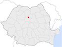 Reghin in Romania.png