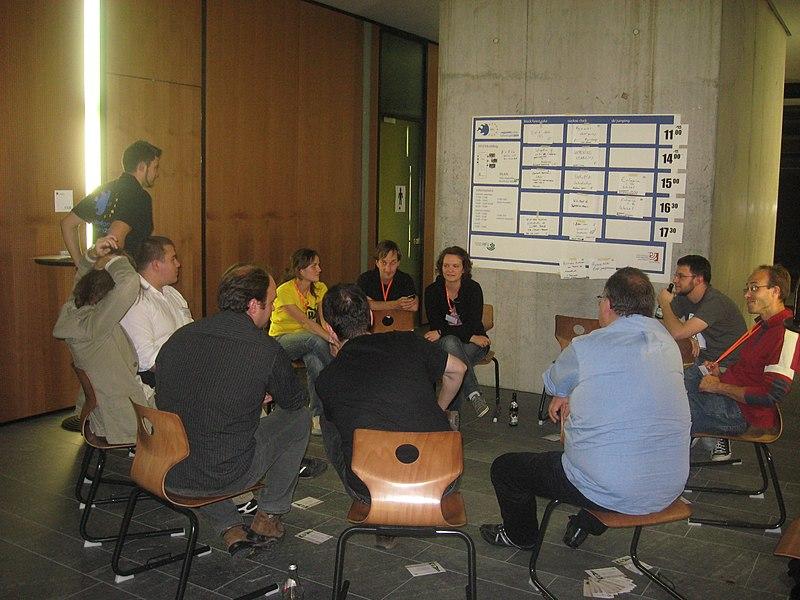 Datei:Regiowikicamp 2009 (10).JPG