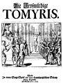 Reinhard Keiser - Die großmütige Tomyris - titlepage of the libretto from 1717.jpg