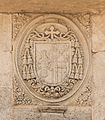 Relief CoA bishop Alhama de Granada, Andalusia, Spain.jpg